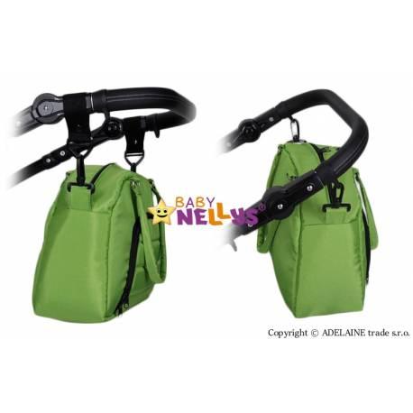 Taška na kočík Baby Nellys ® ADELA LUX - zelená