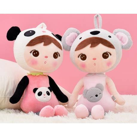 Handrová bábika Metoo XL - medvedík Panda, 70cm