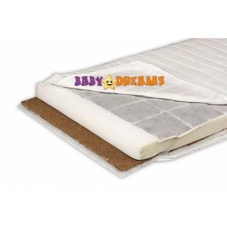 Detská matrac kokos / pena / pohánka kolekcie Baby Dreams
