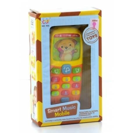 Interaktívna hračka s melódiu - Mobil Smart