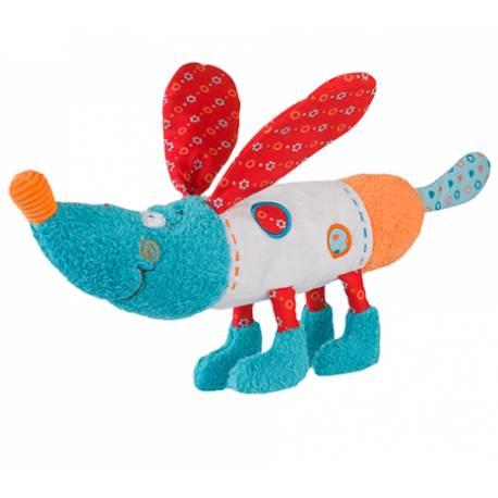Edukačná hračka Baby Ono - hrkálka - Psík Bob