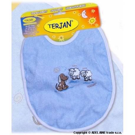 Podbradník Terjan veľký - modrý