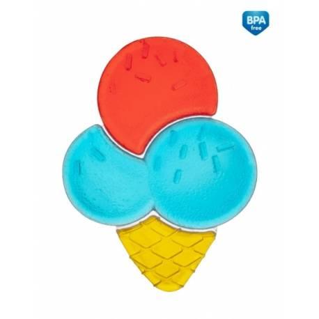 Hryzátko vodné zmrzlina - modro/červená