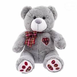 Plyšový medvedík 40cm - sivý