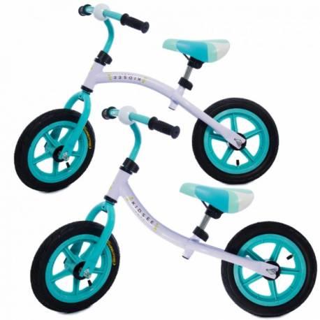 Detské odrážadlo - bicykel - tyrkysové