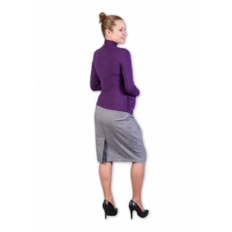 Tehotenská sukňa vlněná Daura