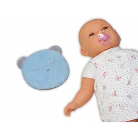 Šumiaci maznáčik Macko Sleep - modrý
