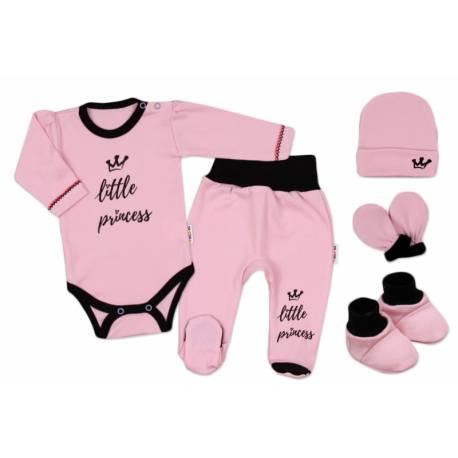Súpravička do pôrodnice Princess - ružová