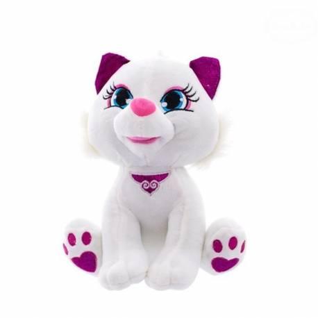 Plyšová mačička 30cm - biela