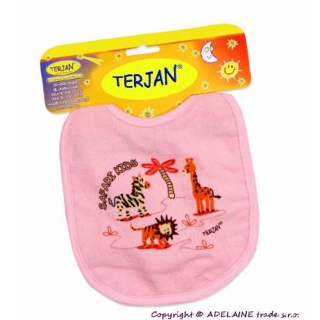 Podbradník Terjan stredný - ružový