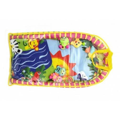 Hrazda pre deti s podložkou a hrkálkami v plastovej taške 38x68x6cm.