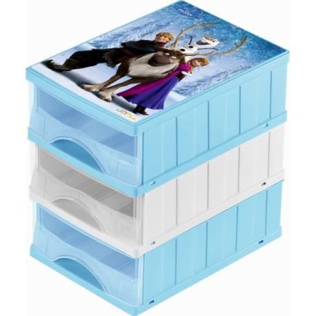 Boxy na hračky - zásuvky Frozen