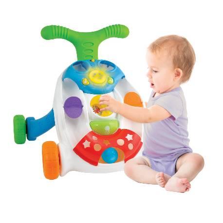 Detské interaktívne chodítko s loptičkami