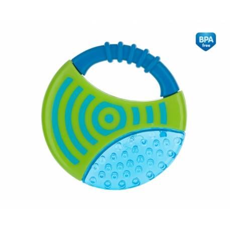 Hryzátko vodné s hrkálkou - Koliesko - modré
