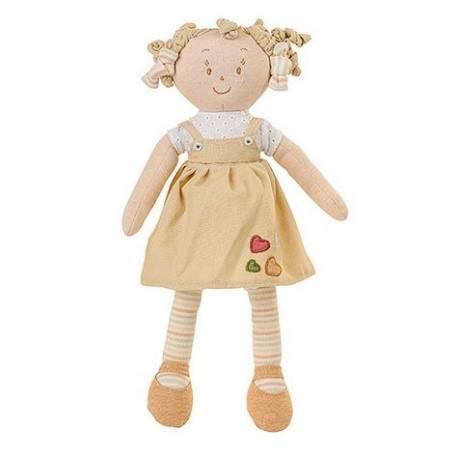 Látková bábika EKO Lily Baby Ono - béžová