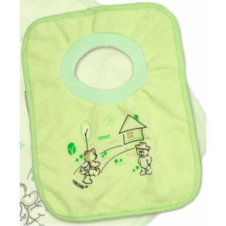 Podbradník Terjan so sťahovacím lemom - zelený