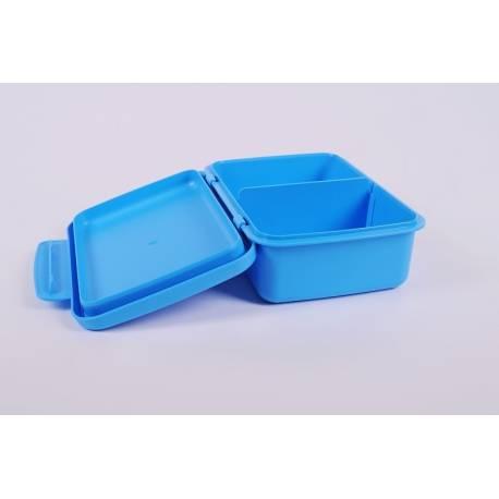 Desiatový box Zdravá desiata - modrý