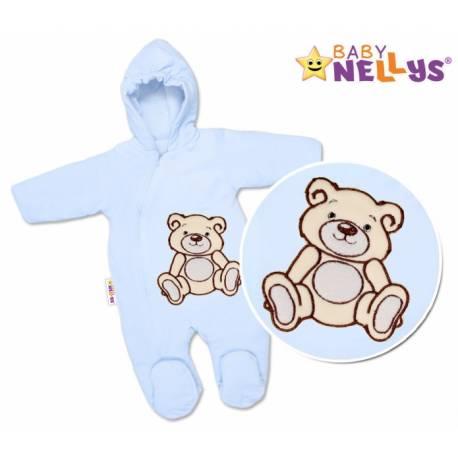 Kombinézka/overal Medvedík Teddy - modrá