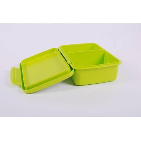 Desiatový box Zdravá desiata - zelený