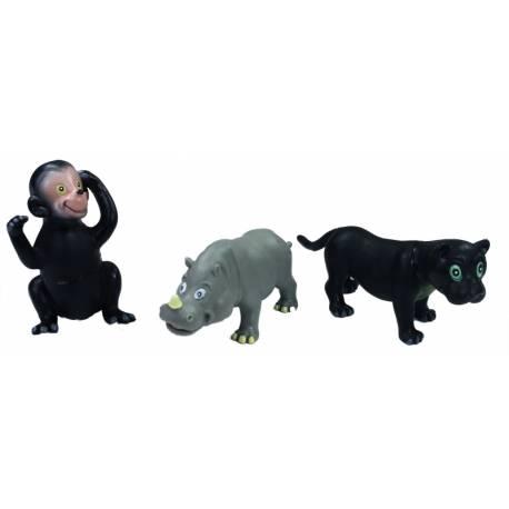 Zvieratá veselá divoká, 12 cm