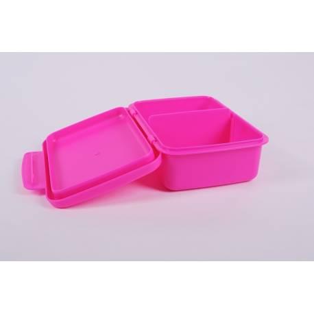 Desiatový box Zdravá desiata - ružový