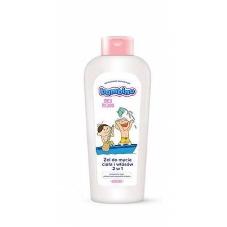 Detský umývací gél BAMBINO na telo i vlásky - Bolek a Lolek
