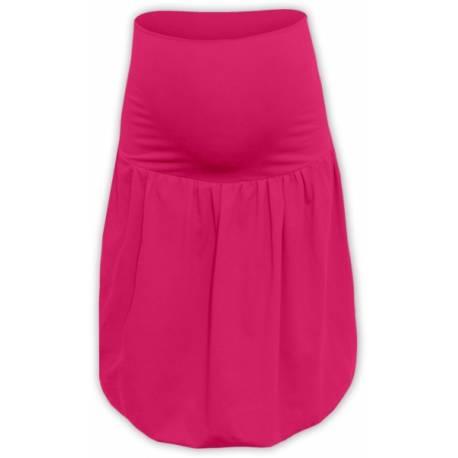 Balónová sukňa - malinová