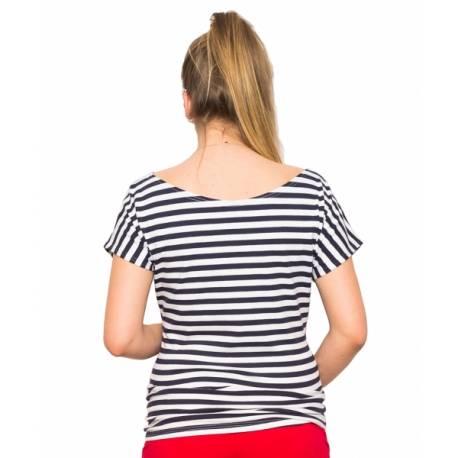 Tehotenské tričko / blúzka Navy, vel. M