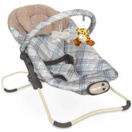 BABY MIX Lehátko pre dojčatá s vibrácií a hudbou
