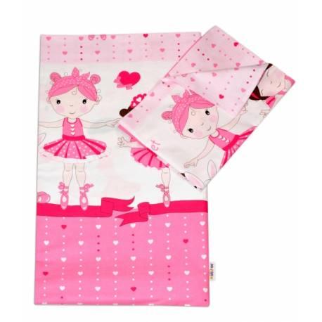 Bavlnené obliečky Princess Baby Nellys - ružová
