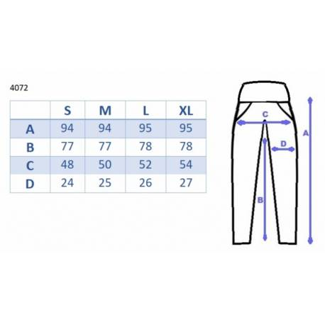 Tehotenské nohavice s elastickým pásom a87aaf09b3