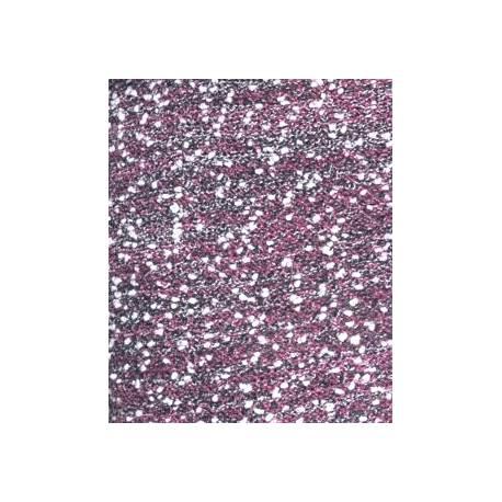 Dlhý svetrík LADY melírkovaný - růžový
