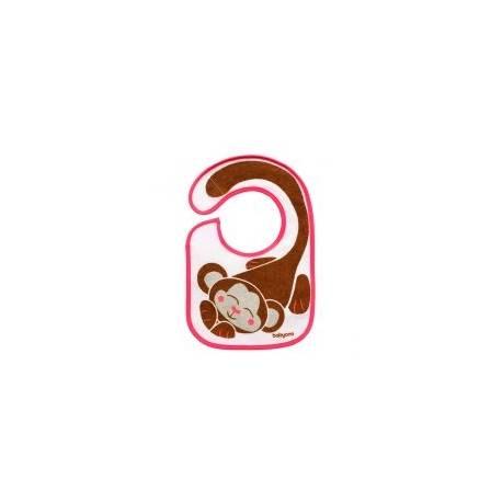 Podbradník Baby Ono Aj EAT AND I GROW - ružový