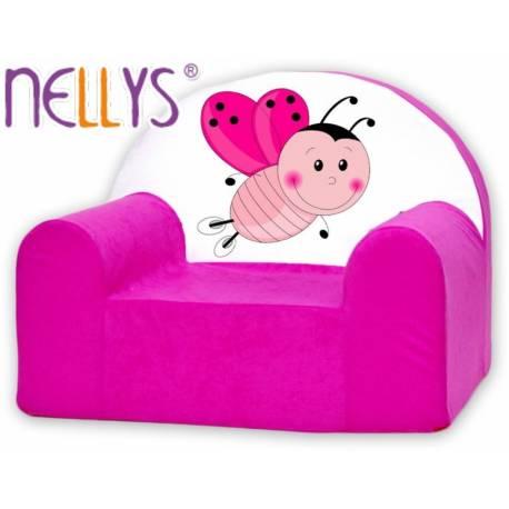 Detské kresielko / pohovečka Nellys ® - Lienka