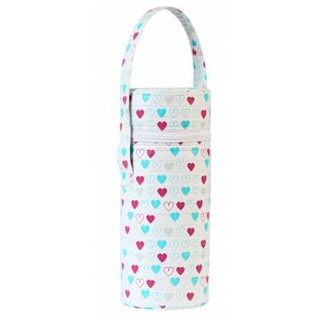 Termobox na dojčenskú fľašu - Srdiečka