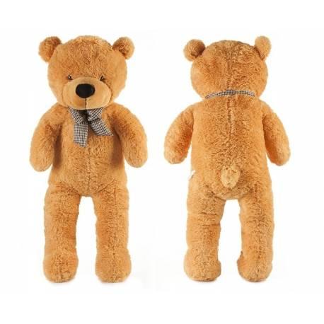 Roztomilý maxi plyšový medveď Tedík 160cm - hnědý