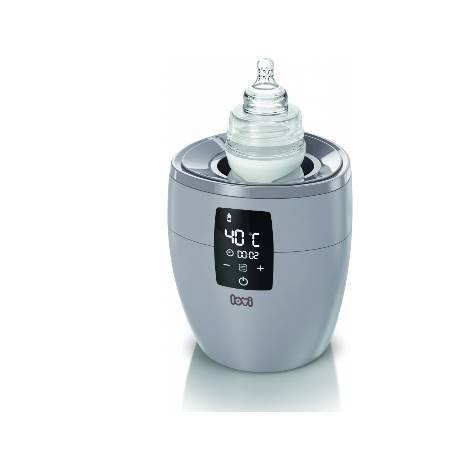 Ohrievač dojčenských fliaš 4v1 - šedý