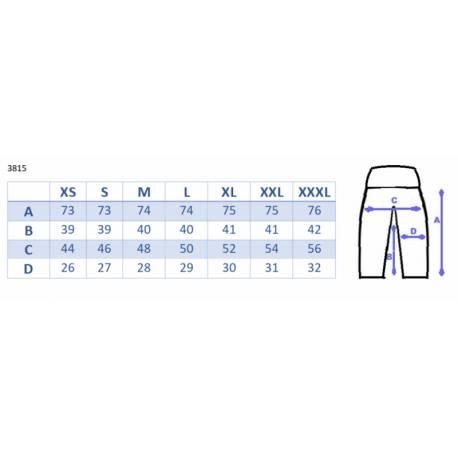 Moderné tehotenské 3/4 nohavice s vreckami - navy, vel´. XXXL