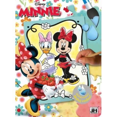 Omalovánka Maluj vodou Minnie