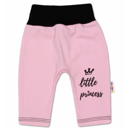 Bavlnené tepláčky, ružové, veľ. 62 - Little Princess