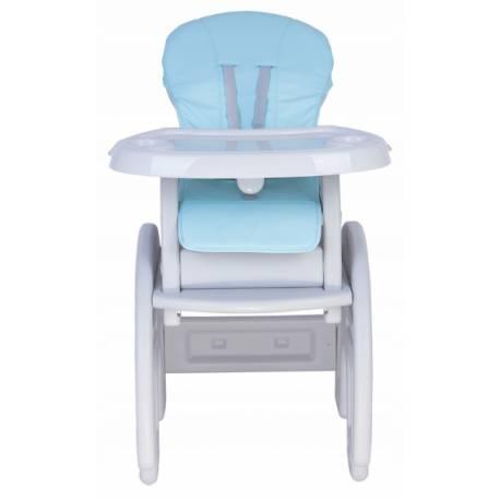 Jedálenský stolček 3v1 Slon, 2019 - šedý, sv. modrý