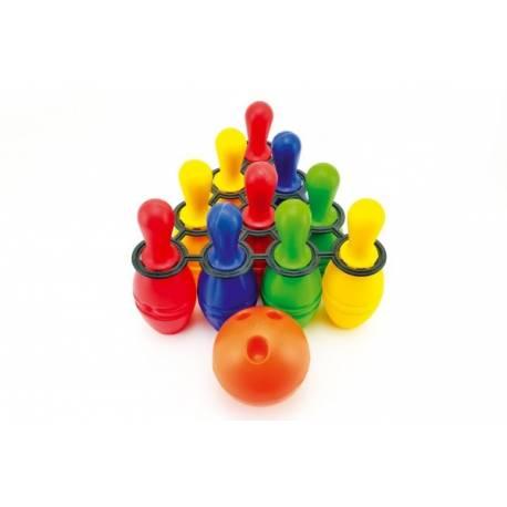 Bowling kolky plast 21cm 10ks v sieťke