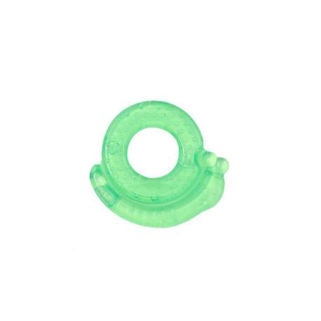 Hryzátko gélové Baby Ono Slimák - Zelené
