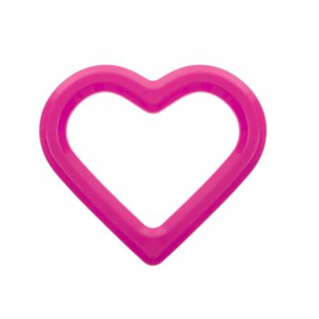 Vodne hryzátko Srdce - ružové