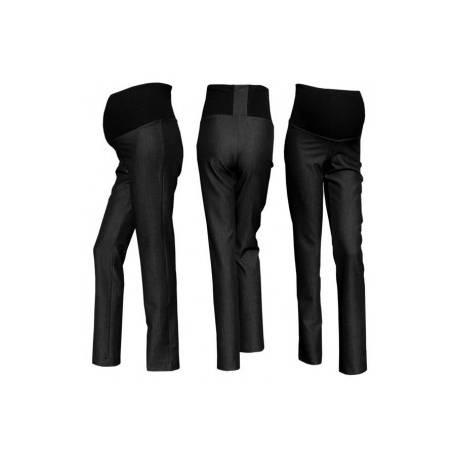Elegantné nohavice SAPO - čierna