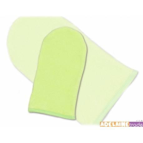 Žinka froté - zelená