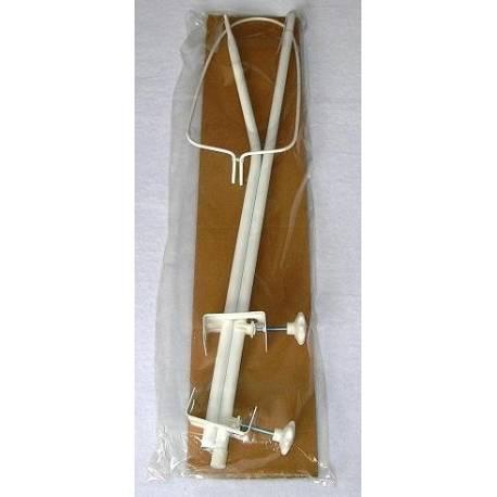 Konštrukcia - držiak nebies / moskytiéry - biely