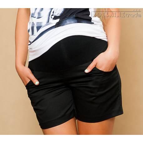 Tehotenské kraťasy - čierne