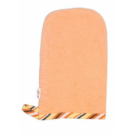 Žinka froté - oranžová