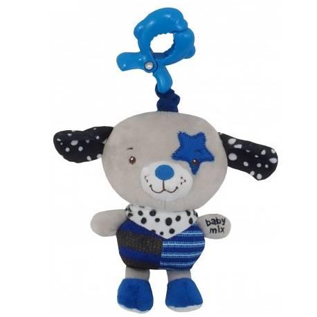 Závesná hračka Psík - modrý